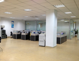 Office area of the company.